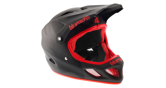 bluegrass Explicit - Cascos integrales - rojo/negro
